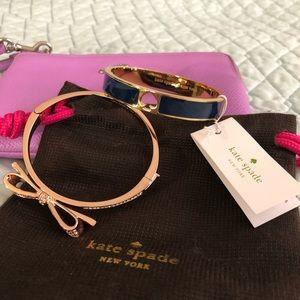 Kate Spade Hole Punch Spade Bracelet